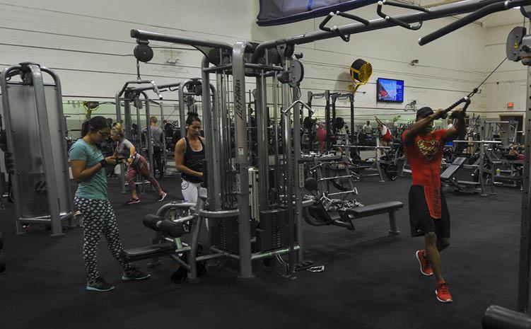 Hurlburt Field Fitness Centers