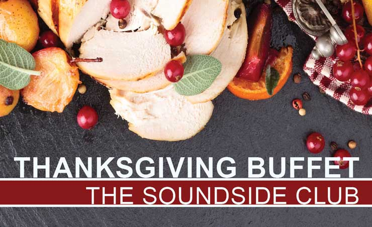 Thanksgiving Buffet Soundside Club